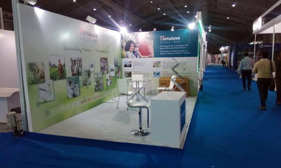 Wedding Exhibition Stall : Himalaya exhibition stall setup bangalore international