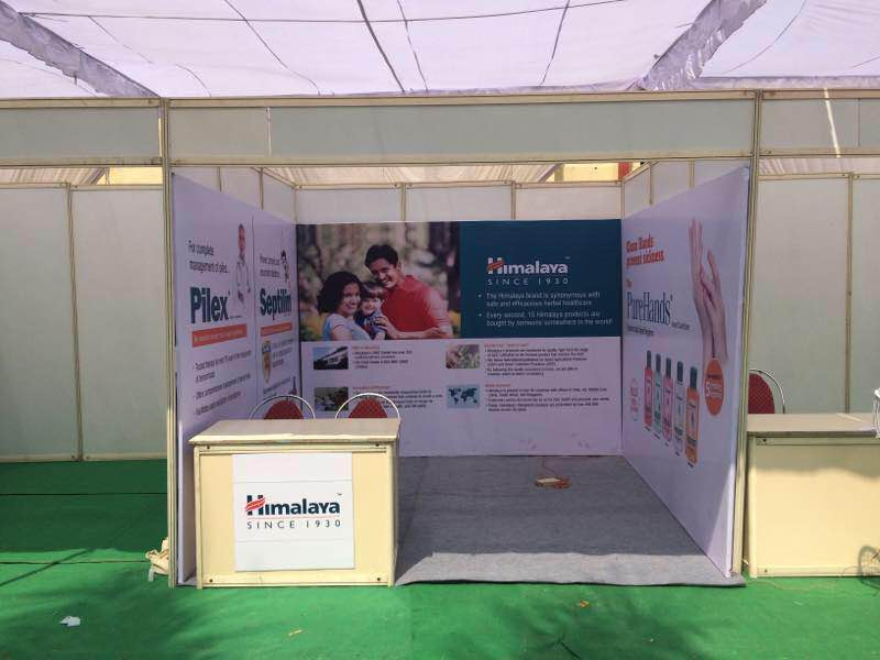 Exhibition Stall Set Up : Services madiha event management india pvt ltd