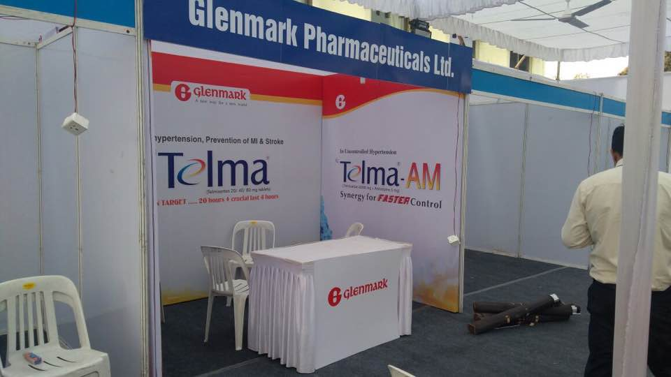 Exhibition Stall Requirements : Telma small exhibition stall setup aurangabad u madiha event